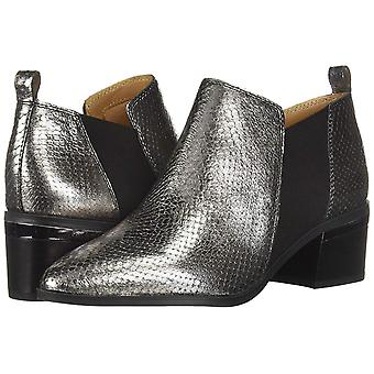 Franco Sarto Women's Arden Ankle Boot, Pewter, 8.5 M US