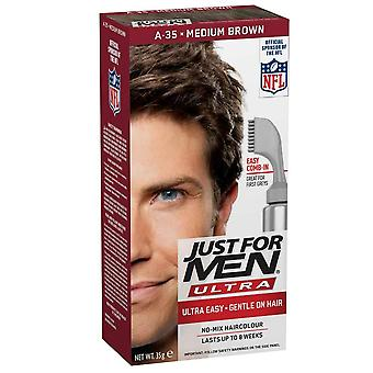 Just For Men 3 X Just For Men AutoStop Hair Colour - A35 Medium Brown