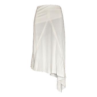 Peace Love World Plus Skirt Knit Midi Skirt White A310801