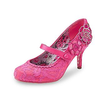 Joe Browns Couture Pink Lace Floozie Mary Jane Shoes