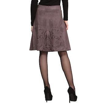Desigual Women's Fawn Velvetey Antel Skirt