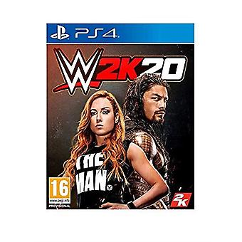 WWE 2K20 PlayStation 4 PS4-spel