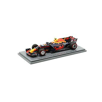 Red Bull Renault RB13 Tag Heuer (Max Verstappen - Sieger Malaysian GP 2017) Harz Modellauto