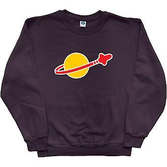 Space Logo Black Sweatshirt
