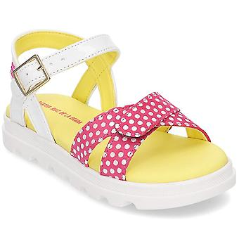 Agatha Ruiz De La Prada 192947 192947BFUCSIAYBLANCO2528 zapatos universales para niños de verano