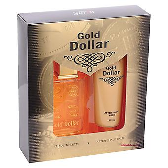 Gold Dollar Edt Gift Set By Saffron London