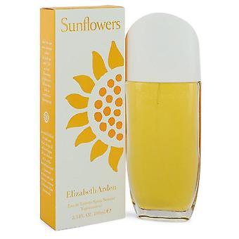 Sunflowers Eau De Toilette Spray By Elizabeth Arden   401812 100 ml