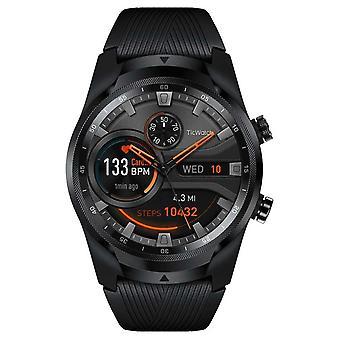 TicWatch Pro 4G LTE eSIM   أسود   ساعة WearOS الذكية PRO4G-WF11018 Watch