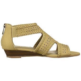 Easy Street naisten 30-1726 nahka avoin toe rento nilkka hihna sandaalit