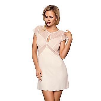 Vena VHL-323 Femmes-apos;s Ecru Off White Nightdress