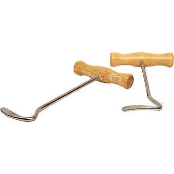 Gómez Wood Mango Throwers (Horses , Ironwork , Bags utensils)