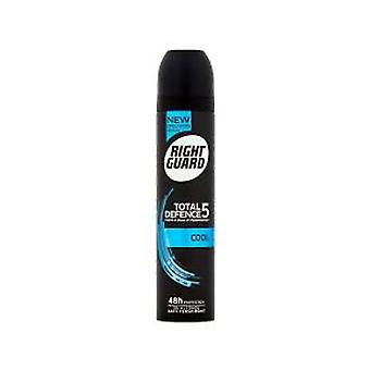 Right Guard Total Defence 5 Cool 48 Hour Deodorant For Him
