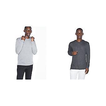American Apparel Unisex Adults Tri-Blend Long Sleeve Hoodie
