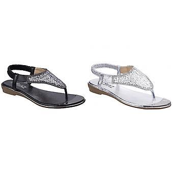 Divaz Womens/dames Kirsty teen Post sandalen