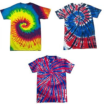 ColorTone enfants/Childrens Rainbow Tie-Dye Heavyweight T-Shirt