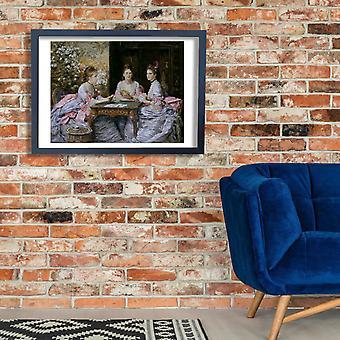 John Everett Millais - serca są atuty plakat Giclee druku
