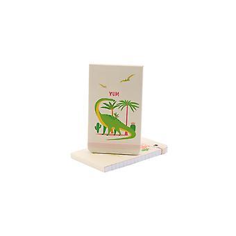 Dinosauria Yum Notepad