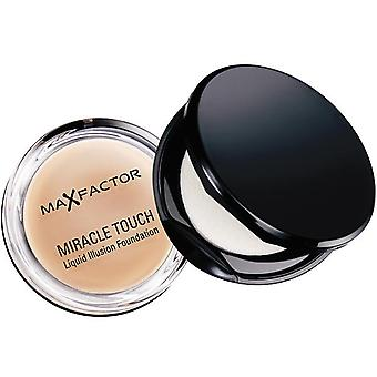Max Factor Miracle touch Foundation 45 varm mandel