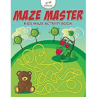 Maze Master Kids Maze Activity Book by Kreative Kids