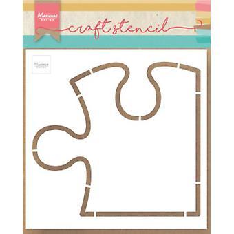Marianne Design Craft Stencil Puzzle Ps8052 148.5x148.5 mm