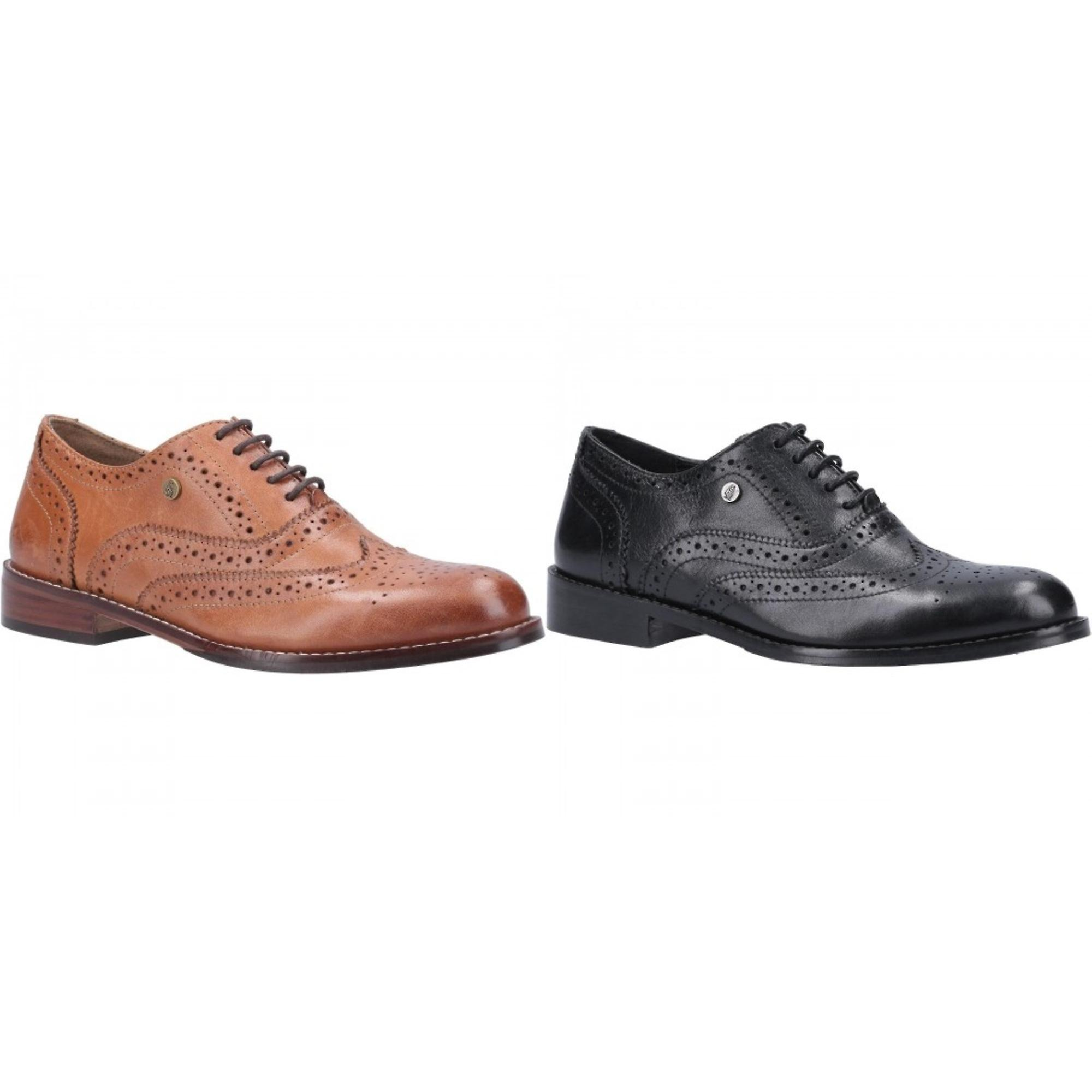 Hush Puppies Womens/Ladies Natalie Lace Up Leather Brogue Shoe g5pbl