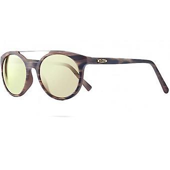 Revo Aston Polarized Sunglasses Matte Sand Stripe, Champagne RE1041