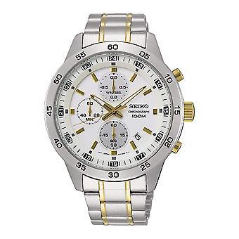 Cronógrafo de relógio masculino Seiko Neo Sports SKS643P1