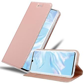 Huawei P30 PROケースカバー用カドラボケース - 磁気留め金付き電話ケース、スタンド機能、カードコンパートメント - ケースカバー保護ケースブック折りたたみ式
