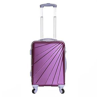 Slimbridge Fusion Cabin Hard Suitcase, Plum