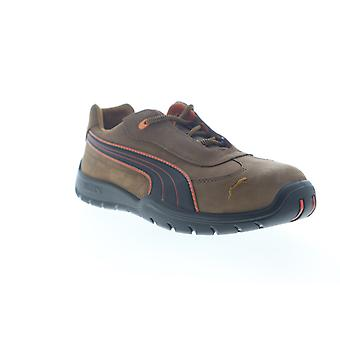 Puma Safety Indy Low  Mens Brown Nubuck Lace Up Work Boots Shoes