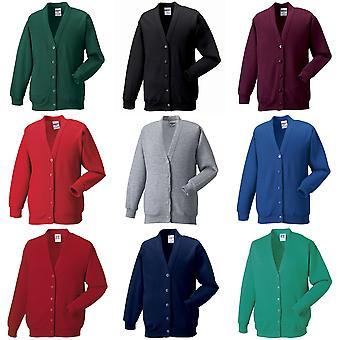Russell Workwear Mens Sweatshirt Cardigan