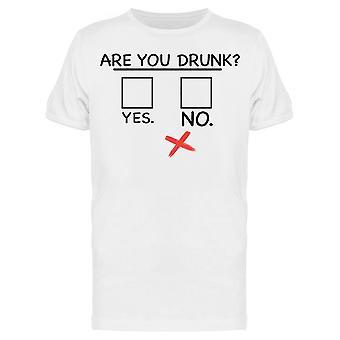 Er du full mislykkes menn's T-skjorte