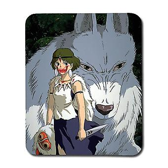 Anime Princess Mononoke Mouse Pad