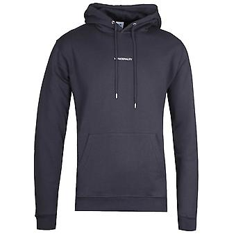 NN07 Barrow 3385 No Nationality Hooded Sweatshirt - Navy