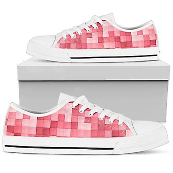 Low Top Shoes | Pink Mosaic
