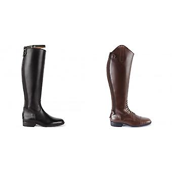 Caldene Womens/Ladies Leather Ashford Long Riding Boots