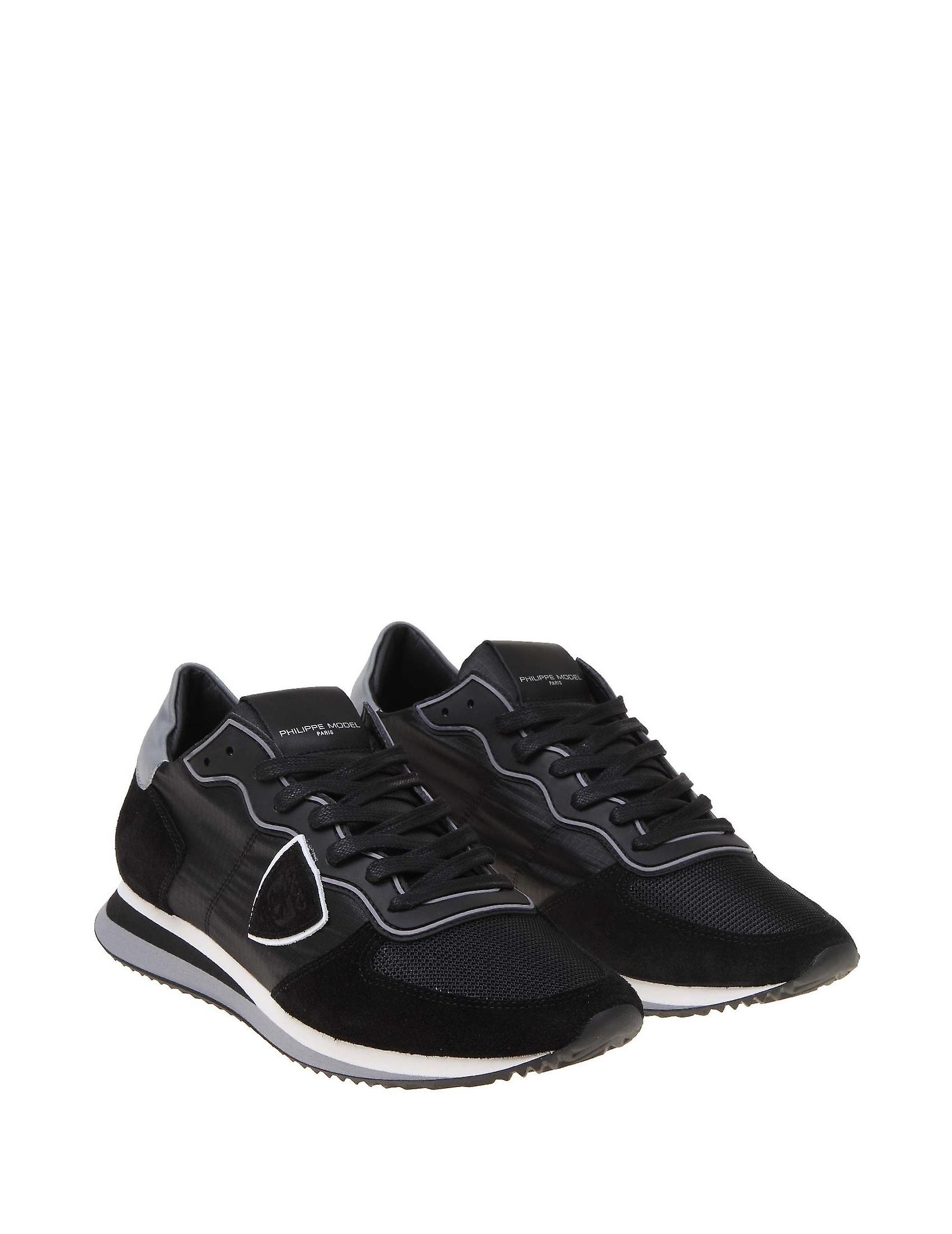 Philippe Model Tzluwb10 Uomo' s Sneakers in pelle nera 63ue7s