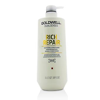 Dual senses rich repair restoring conditioner (regeneration for damaged hair) 215834 1000ml/33.8oz
