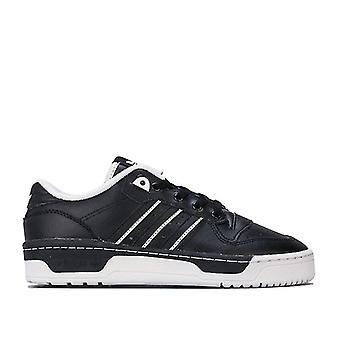 Boy's adidas Originals Junior Rivalry Low Trainers in Black