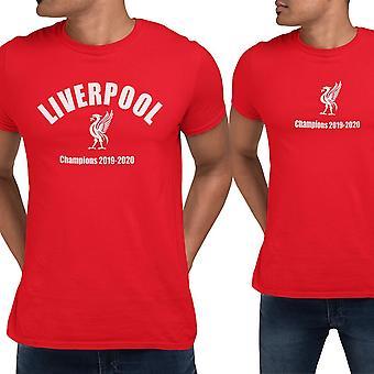 2. Liverpool T-shirts mit Champions Print 2020
