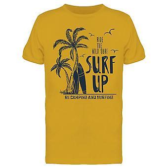 Ride The Wild Surf Tee Men's -Image di Shutterstock