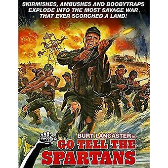 Go Tell the Spartans [DVD] USA import
