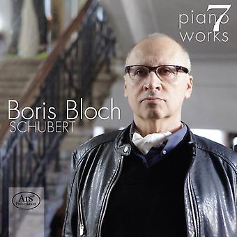 Schubert Piano Works 7 [CD] USA import