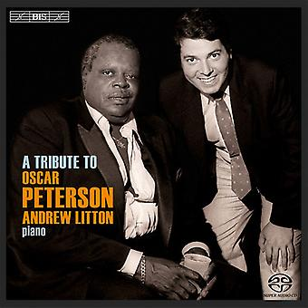 Litton, Andrew/Peterson - Tribute to Oscar Peterson [SACD] USA import