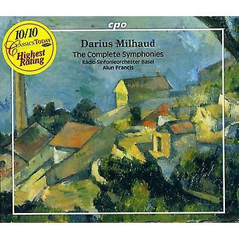 D. Milhaud - Milhaud: The Complete Symphonies (Box Set) [CD] USA import