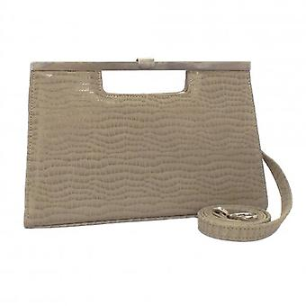 Peter Kaiser Wye Clutch Bag In Taupe Musti