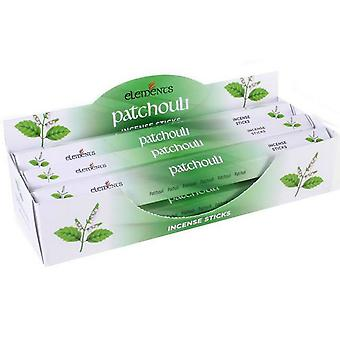 Something Different Elements Incense Stick 6 Pack Display Set Patchouli