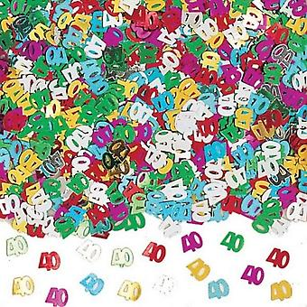 Amscan Multicoloured Confetti - 40