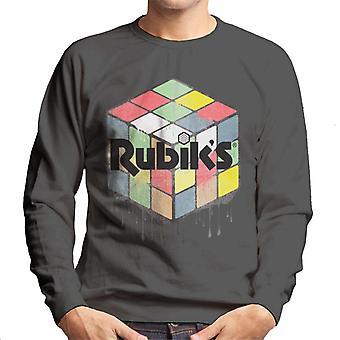 Rubik's Urban Cube heren Sweatshirt