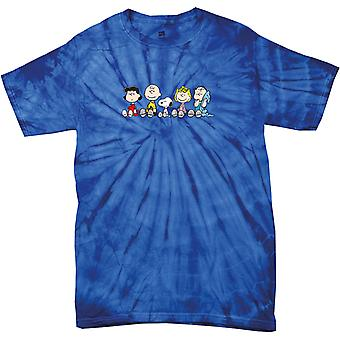 Peanuts The Gang Sit Down Women's Tonal Spider T-Shirt